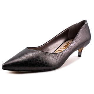 Sam Edelman Women's 'Laura' Silver Leather Dress Shoes