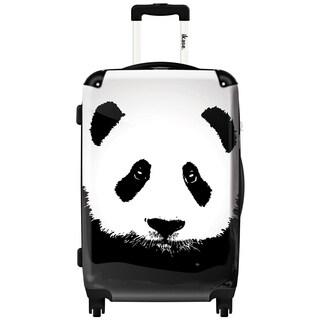 iKase 'Panda' 24-inch Fashion Hardside Spinner Suitcase