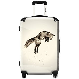 iKase 'Fox Black' 24-inch Fashion Hardside Spinner Suitcase
