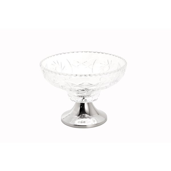 Sunflower Fruit Bowl with Stainless Steel Stand