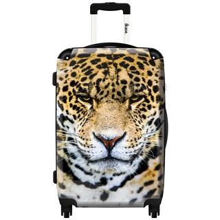 iKase 'Leo' 24-inch Fashion Hardside Spinner Suitcase