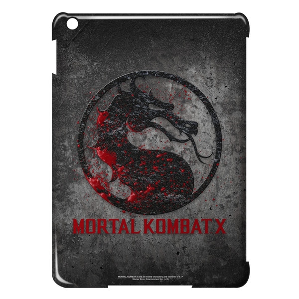 Mortal Kombat X/Stone Logo Graphic Ipad Air Case