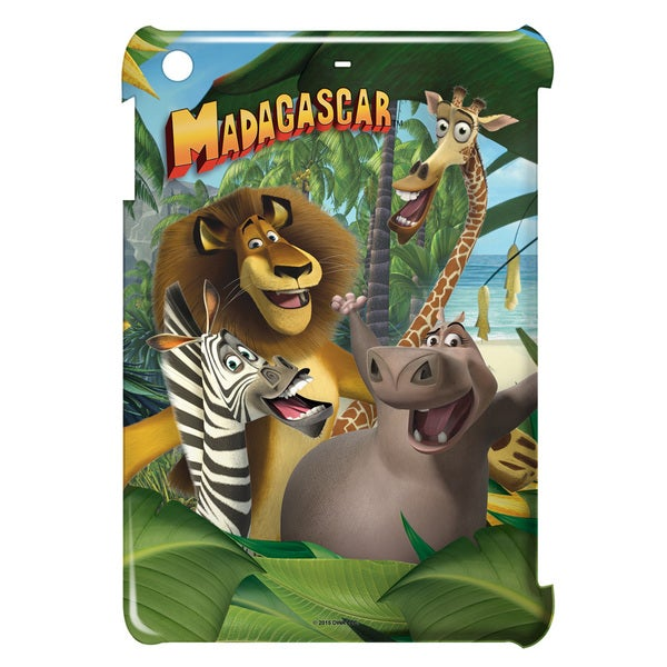 Madagascar/Jungle Time Graphic Ipad Mini Case