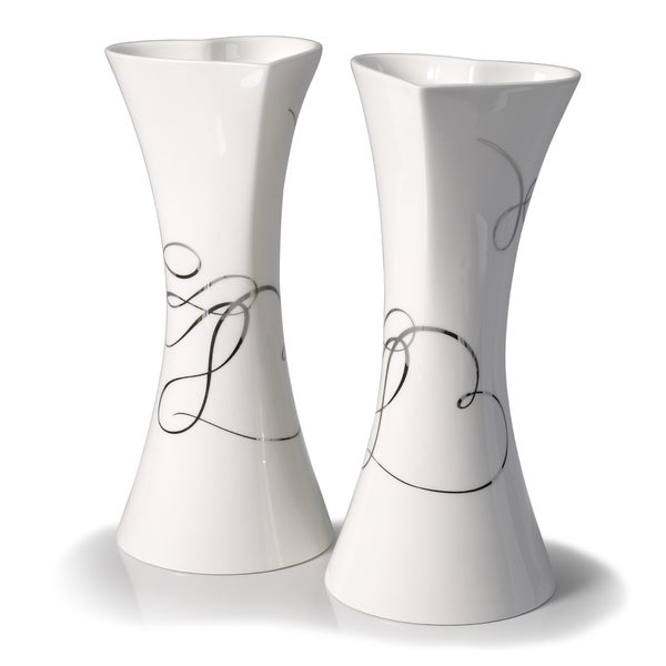 Mikasa 'Love Story' 10-inches High Candlesticks (Pack of 2)