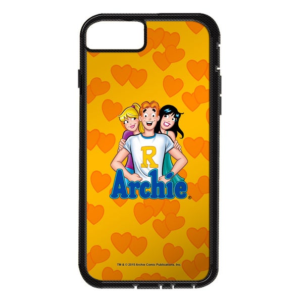 Archie/Love Triangle Tough/Xtreme Smartphone Case (Multiple Devices) in White