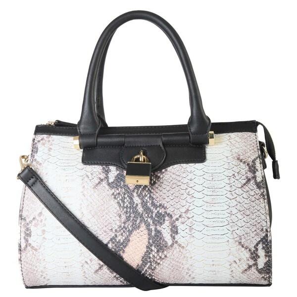 Diophy PU Leather Animal Print Large Hobo Tote Women's Purse Handbag SW-3109