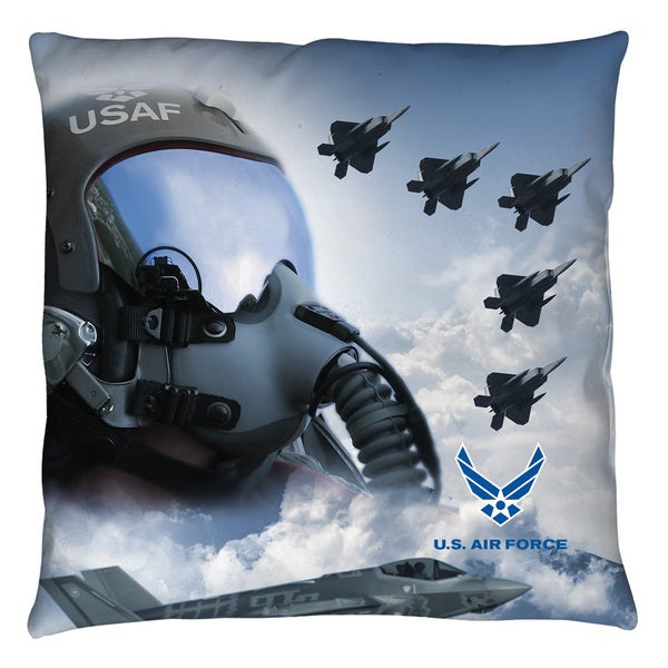 Air Force/Pilot Throw Pillow