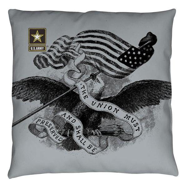 Army/Union Throw Pillow
