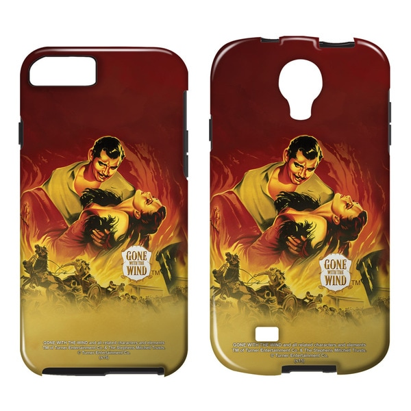 Gone With The Wind/Fire Poster Tough/Vibe Smartphone Case (Multiple Devices) in White