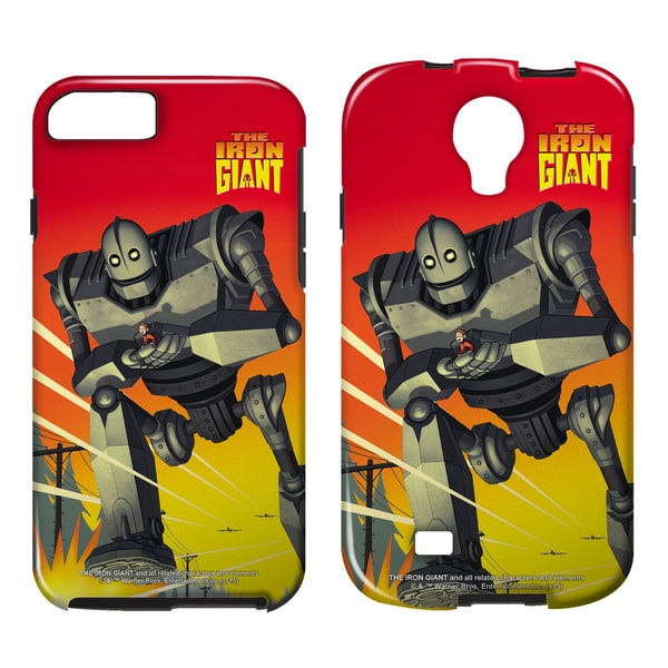 Iron Giant/It Came From Space Tough/Vibe Smartphone Case (Multiple Devices) in White