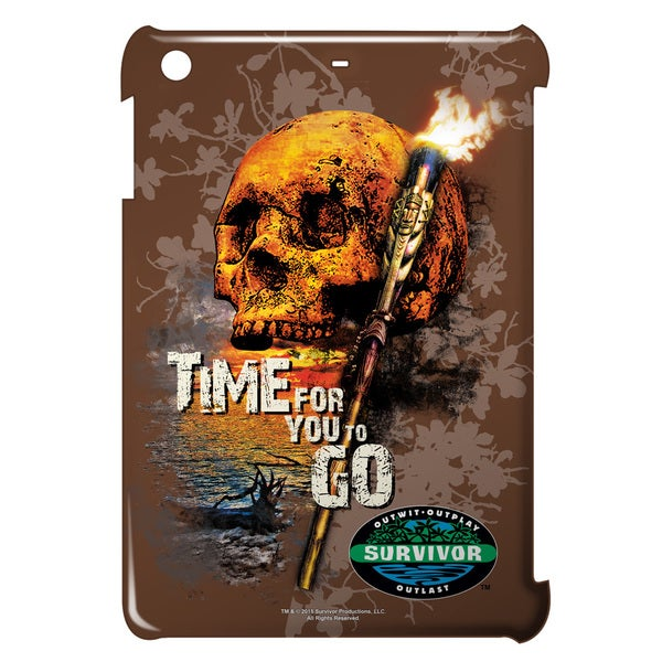 Survivor/Time To Go Graphic Ipad Mini Case