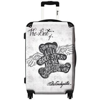 iKase 'Lulu Castagnette So Rock' 24-inch Fashion Hardside Spinner Suitcase