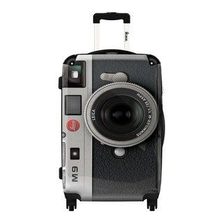 iKase 'Camera Leica' 24-inch Fashion Hardside Spinner Suitcase