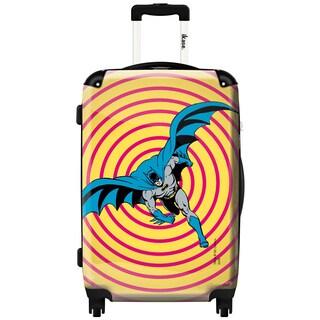 iKase 'Batman Psychedelic' 24-inch Fashion Hardside Spinner Suitcase