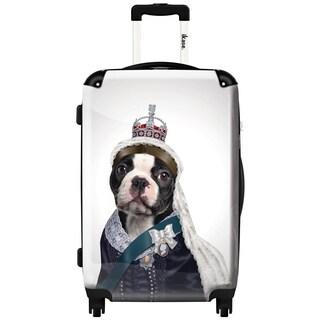 iKase 'Queen Artwork 2' 24-inch Fashion Hardside Spinner Suitcase
