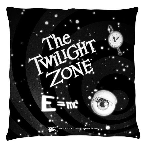 Twilight Zone/Another Dimension White Throw Pillow