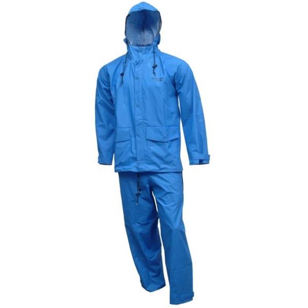 Tingley S66211 R.B. Storm Champ Blue Rubber Rain Suit