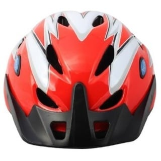 Rhoads Town Blue/Red Padded Bike Helmet