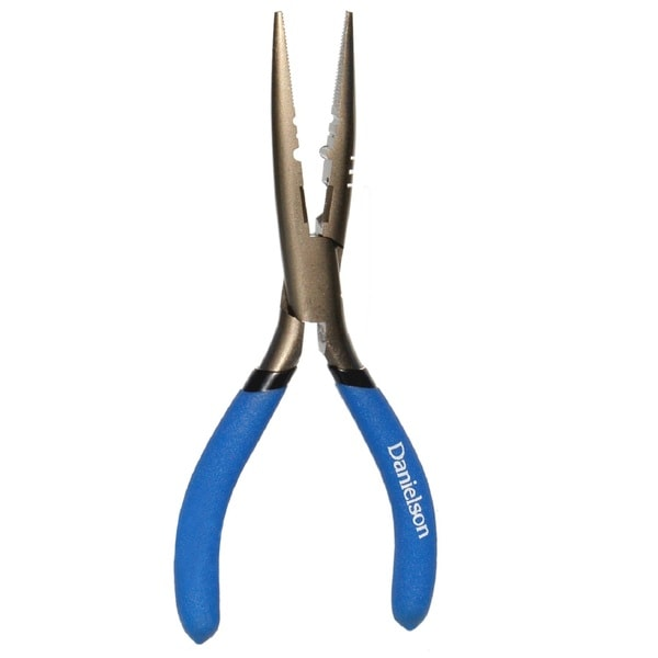 Danielson Stainless Steel 7-inch Long Nose Pliers
