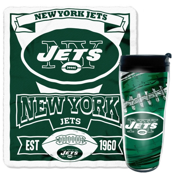 NFL Jets Mug N' Snug Set 19689238