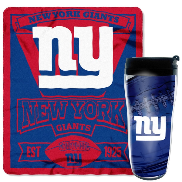 NFL New York Giants Mug N Snug Set