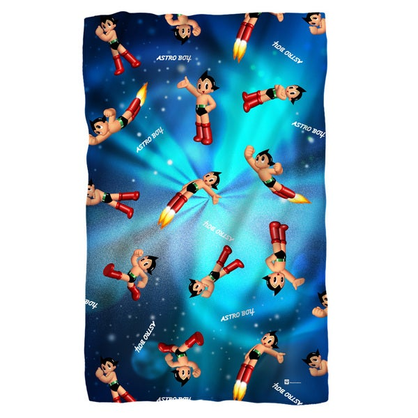 Astro Boy/Pattern Fleece Throw
