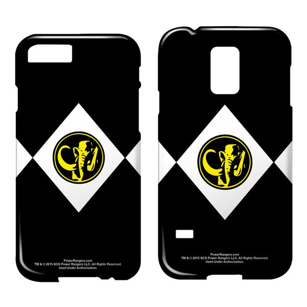 Power Rangers/Black Ranger Barely There Smartphone Case (Multiple Devices) in White