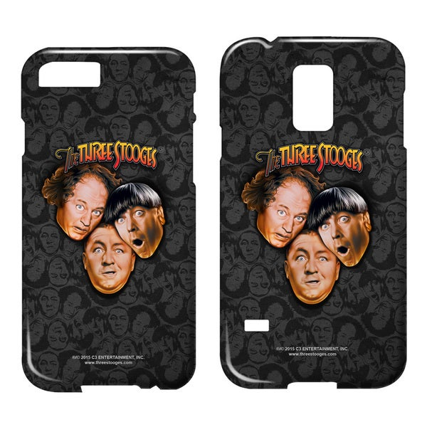 Three Stooges/Stooges All Over Barely There Smartphone Case (Multiple Devices) in White