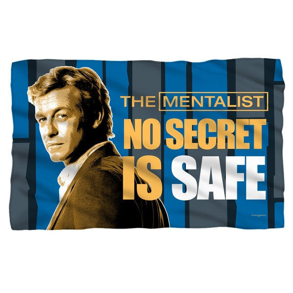 Mentalist/No Secrets Fleece Blanket in White