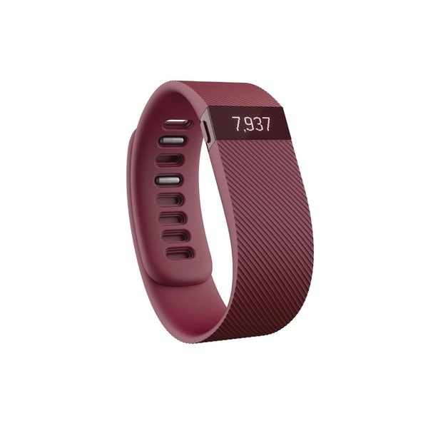 Fitbit Charge Wristband, Burgundy, Large