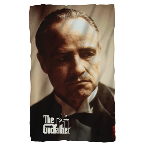 Godfather/Vito Fleece Blanket in White
