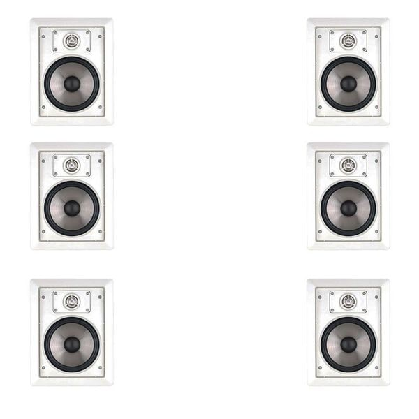 6 JBL SP6II Surround Sound In-Wall Speakers