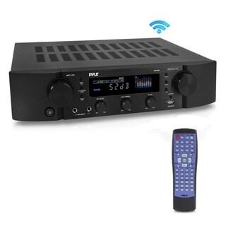 Pyle PT395 Bluetooth Hybrid Pre-Amplifier MP3/USB/AUX/FM Pre-Amp Receiver Radio Home Theater Stereo