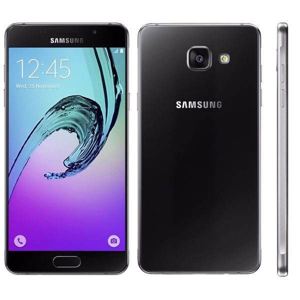 Samsung Galaxy A5 (2016) Black 16GB Dual SIM Unlocked GSM Smartphone - International Version, No Warranty