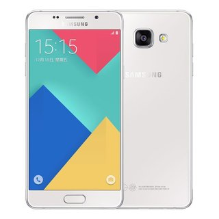 Samsung Galaxy A7 White 2016 Duos SM-A7100 16GB Dual SIM Unlocked International GSM Smartphone
