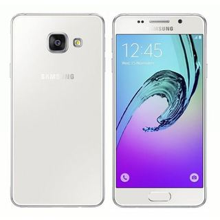 Samsung Galaxy A3 (2016) Unlocked Dual SIM A310F/DS 16GB 4G White Smartphone - International Version, No Warranty