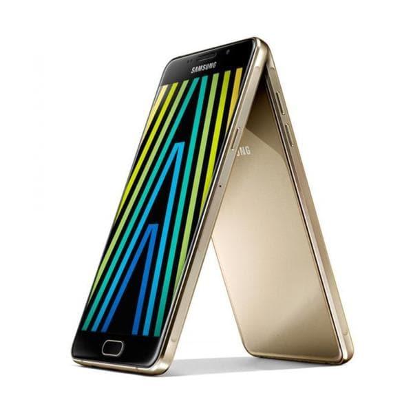 Samsung Galaxy A3 Gold (2016) Unlocked Dual SIM A310F/DS 16GB 4G - International Version, No Warranty