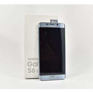 Samsung Galaxy S6 Edge Silver Unlocked Smartphone (International Version, No Warranty)