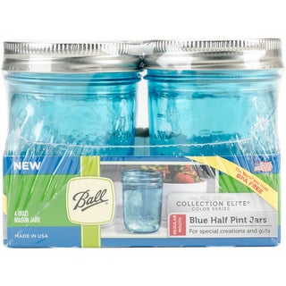 Ball (R) Regular Mouth Canning Jars 4/pkg