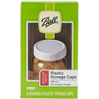 Ball Plastic Storage Caps 8/Pkg