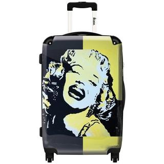 iKase 'Marilyn Monroe Self-portrait' 24-inch Fashion Hardside Spinner Suitcase