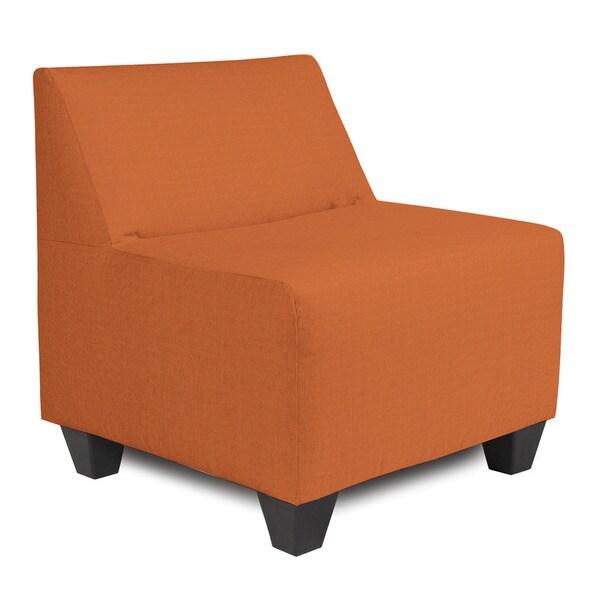 Seascape Canyon Orange Acrylic Pod Chair
