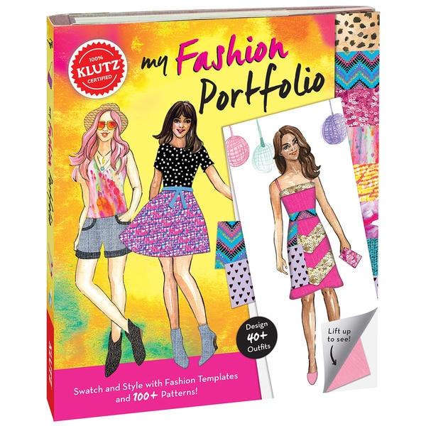 My Fashion Portfolio Book Kit