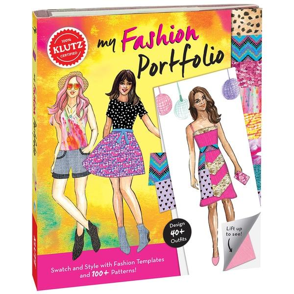 My Fashion Portfolio Book Kit