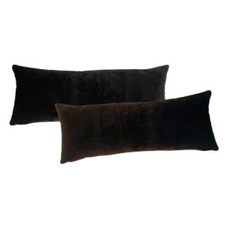 Fuzzy Faux Fur Throw Pillow