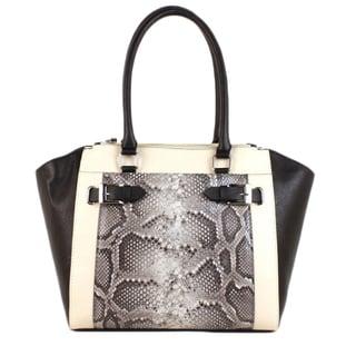 Emilie M. Shaffer Winged Triple-compartment Shoulder Bag