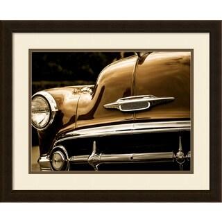 Framed Art Print 'Class Act II (Classic Car)' by Ryan Hartson-Weddle 22 x 18-inch