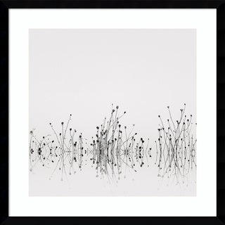 Framed Art Print 'Reflections' by Nicholas Bell 21 x 21-inch