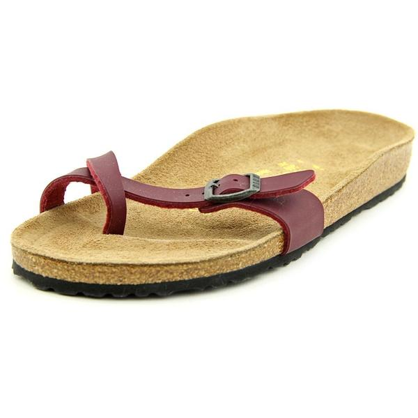 Birkenstock Women's 'Piazza' Red Synthetic Sandals
