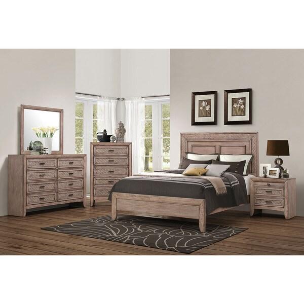 Acme Furniture Caramel Ireton Bed